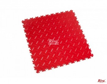 Fortelock 2050 (dezén: diamant) - Rosso Red, střední zátěž